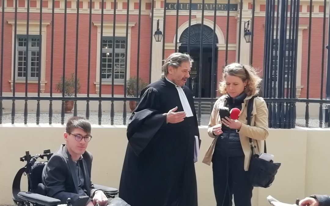 Accessibilité : Kevin Fermine contre la SNCF