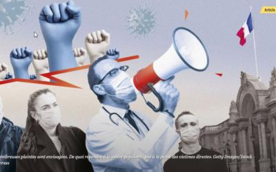 L'Express : associations de victimes du coronavirus : gare aux mirages !
